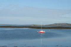 Boat sailing at sea Stock Photo