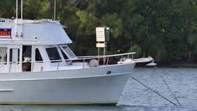 Boat for sale stock video footage