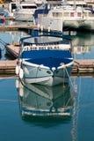 Boat for sale. Sochi. Russia Stock Photos