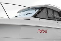 Boat for Sale Royalty Free Stock Images