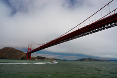 Boat in San Francisco Bay Stock Image