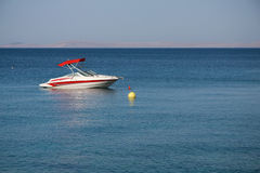 Boat in the sea Stock Image