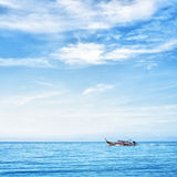 Boat in the Sea Stock Photography