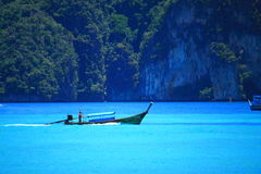 Boat in the sea. Thailand Stock Photo