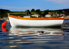 Boat on the sea Royalty Free Stock Photo