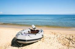 Boat & sea Royalty Free Stock Photos