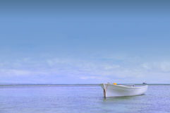 Boat by the sea. A boat by the sea side Royalty Free Stock Photo