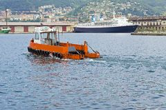 Boat sea clean Stock Photos