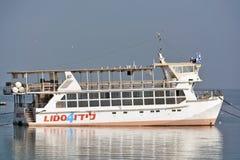 Boat Sea of Galilee near Tiberias Israel. Boat Sea of Galilee near Tiberias, Israel Stock Photography