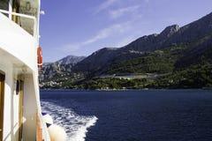 Boat on sea Royalty Free Stock Photo
