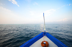 Boat in the sea Stock Images