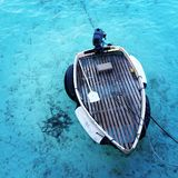 Boat in the sea Stock Image