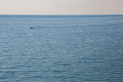 Boat in the sea Royalty Free Stock Image
