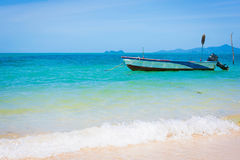 Boat at the sea Stock Photography