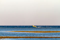 Boat on the sea Royalty Free Stock Image