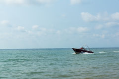 Boat and sea royalty free stock photography