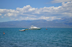 Boat Sea Stock Photo