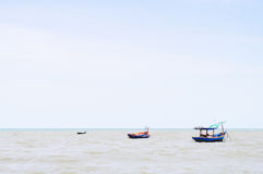Boat And Seascape Stock Photo