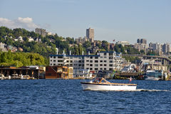 Boat in Seattle Stock Photo