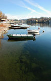 Boat in sesto calende Royalty Free Stock Images