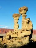 Boat-shaped rock Stock Photos