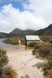Boat Shed, Cradle Mountain, Tasmania Royalty Free Stock Photography