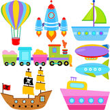 Boat / Ship / Aircraft Vehicles / Transportation Royalty Free Stock Photos