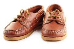 Boat shoes. Stock Photos
