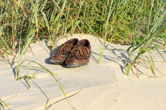 Boat shoes Stock Images