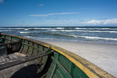 Boat on the shore. Stock Image