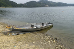 Boat on the shore Royalty Free Stock Images
