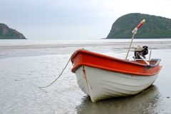 Boat on the shore Stock Image