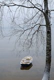 Boat at the shore Stock Photography