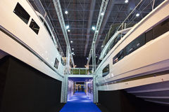 Boat Show 2014, Istanbul Stock Photo