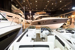 Boat Show 2014, Istanbul Stock Image