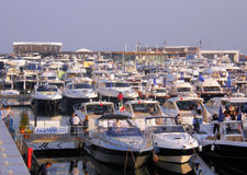 Boat Show Royalty Free Stock Photography