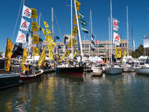 Boat show in Oakland California Royalty Free Stock Images
