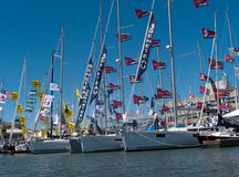 Boat show in Oakland California Stock Photos
