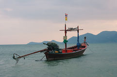 Boat. In the Siam bay Stock Images