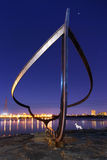 Boat Sight Sculpture in Gatineau Quebec Stock Image