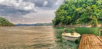 Adventure awaits. State Dock in Kentucky royalty free stock photo