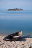 Boat on Skadar Lake Stock Photography