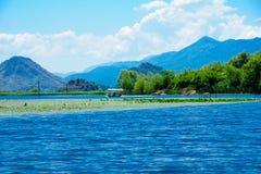 Boat, Skadar Lake Stock Image