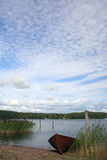 boat sky Στοκ Εικόνα