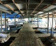 Boat Slips Royalty Free Stock Photography