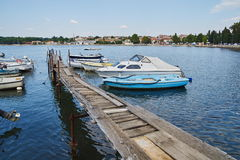 Boat slipway Royalty Free Stock Photos