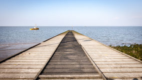 Boat slipway Royalty Free Stock Images