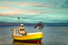 Boat in Sopot, Poland Stock Photography