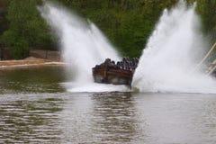 Boat Splash Royalty Free Stock Image