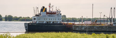 Boat on the St. Lawrence Seaway Stock Image